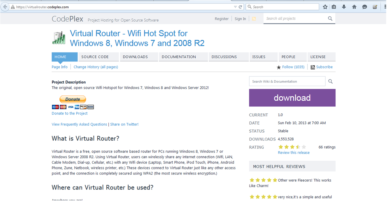 Virtual Router Download