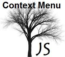 jsTree with default Context Menu, right click menu